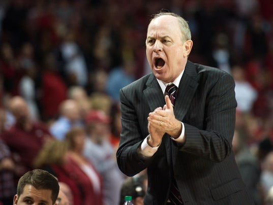 NCAA Basketball: Mississippi State at Arkansas