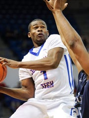 Louisiana Tech guard Derric Jean scored 6 points in Thursday's loss against Old Dominion.