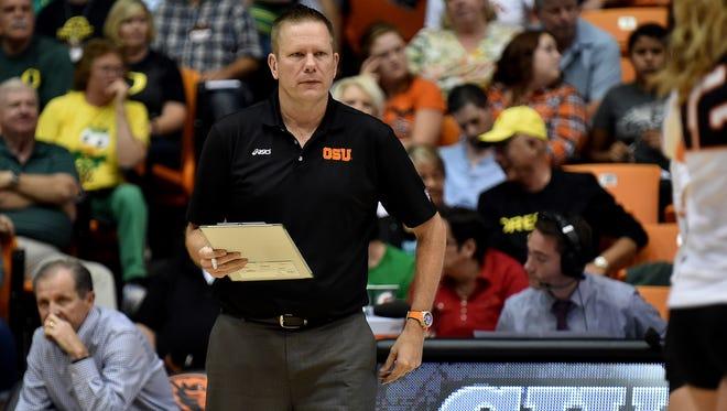 Mark Barnard was named the new OSU volleyball coach.