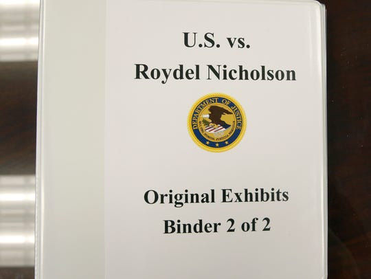 Exhibits provided by Assistant U.S. Attorney John Field