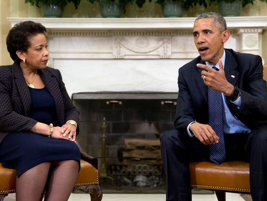 In this May 29, 2015, file photo, President Obama talks