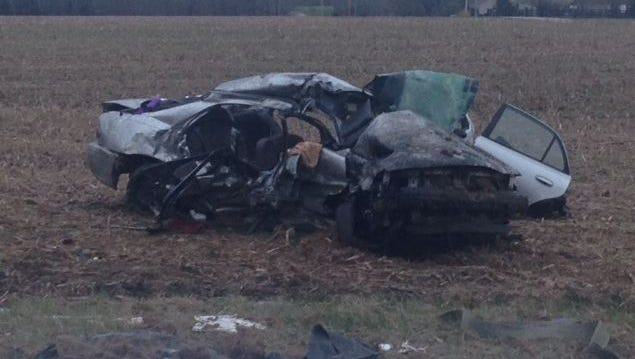 A toxicology report for an April 5 crash in which three people died in Ripley County, Indiana has revealed the driver of a car involved was intoxicated.