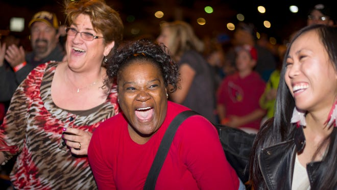 Friends, food and music are all part of the fun at the sixth annual P83 Street Party.