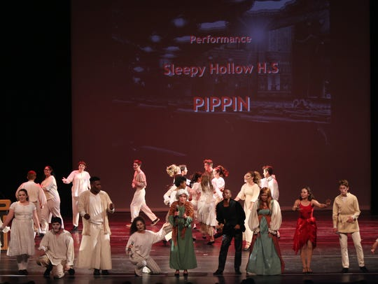 Sleepy Hollow High School performs Pippin during the