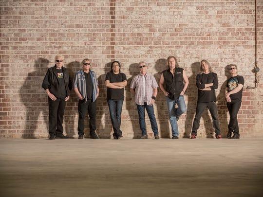 Legendary rock band Kansas kicks off the grandstand show lineup Thursday night at the Ozark Empire Fair.