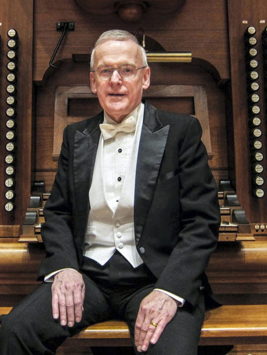 John C. Walker, national president of the American Guild of Organists and a former resident of Franklin County, will be featured in an organ recital Sept. 27 in Central Presbyterian Church, Chambersburg.