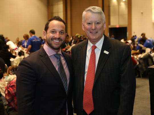Ryan LaFontaine, chairman  of 2018 NAIAS, with Ric