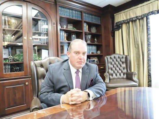 Attorney Jay Suire of 'Best Lawyer' winner Glenn Armentor Law Corporation.