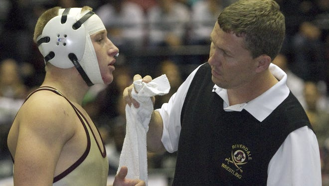 Riverdale wrestling coach Kris Hayward will be inducted into the Lee County Athletic Conference Hall of Fame on April 22.