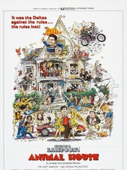 """""""Animal House"""" (1978) will celebrate its 40th anniversary"""