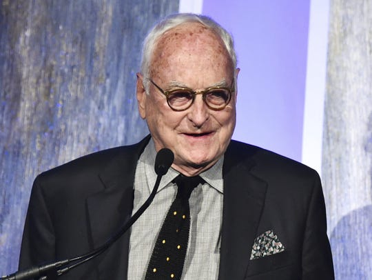 Producer and screenwriter James Ivory accepts the best