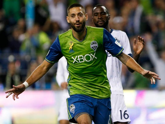 Clint Dempsey and the Sounders remain a favorite to
