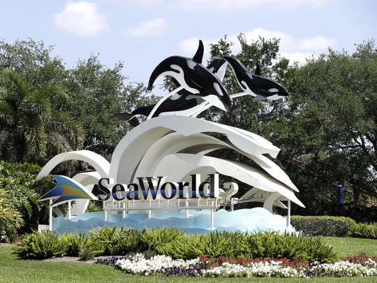 SeaWorld Theme Park in Orlando, Florida.