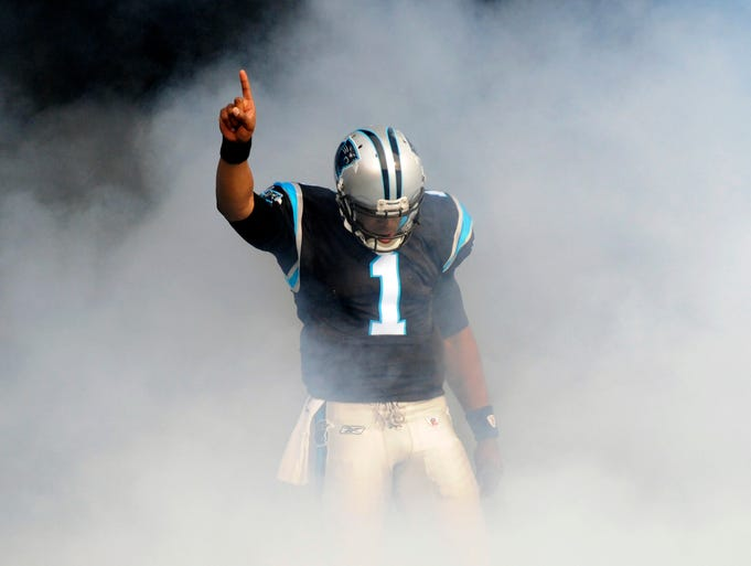 "Cam Newton entered the NFL under controversy when he said he wanted to be an ""icon"" before ever playing a snap. He's had his highs and his lows since. Here's a look at his career in pictures, from his Heisman Trophy-winning season at Auburn to being selected No. 1 overall by the Carolina Panthers."