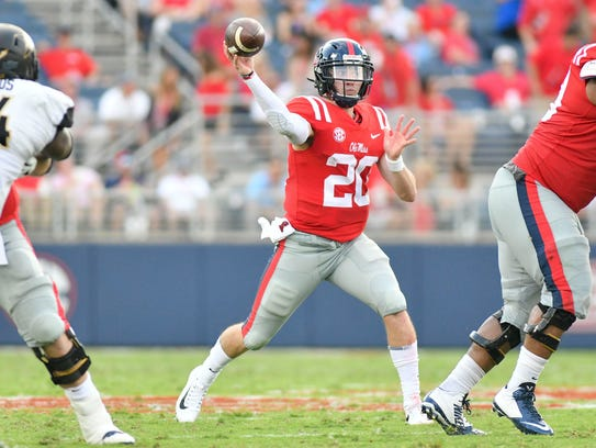 Shea Patterson announced his transfer to Michigan on Dec. 11.