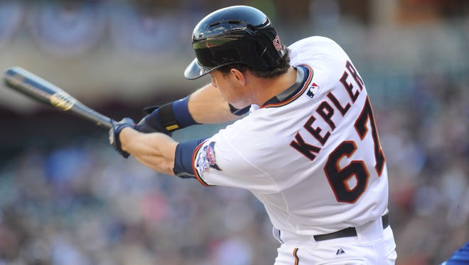 Max Kepler hit .322 with 32 doubles and 9 home runs for Double-A Chattanooga last season, then joined the Twins late in the season.