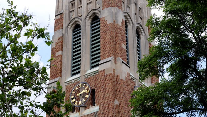 Beaumont Tower on Michigan State University's campus.