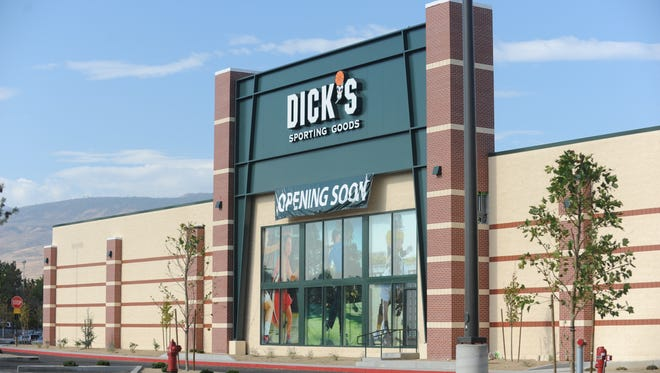 Dick's Sporting Goods opens Oct. 7 at the Meadowood Mall in Reno.