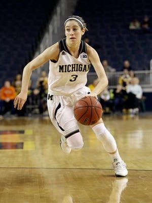 Michigan guard Katelynn Flaherty
