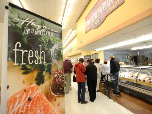 Haggen opening is a hit with shoppers for Michaels craft store salem oregon