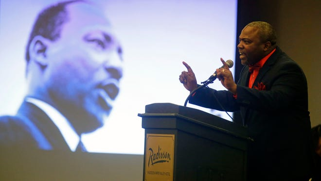 The Rev. Alvin Dupree led the push to have the Appleton Area School District observe Martin Luther King Jr. Day as a school holiday. Dupree is on the Appleton School Board.