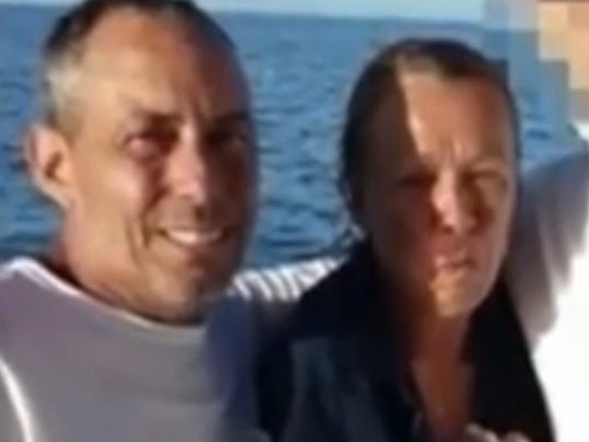 Couple rescued