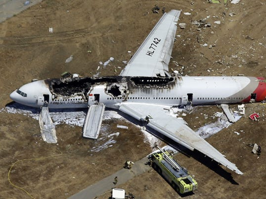 Plane crash report