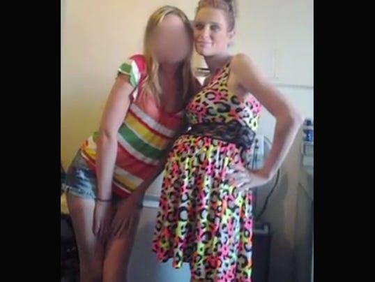 Stolen dress