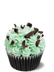 At Norman Love Confections, cupcakes are available for custom order and select varieties are available in chocolate salons.