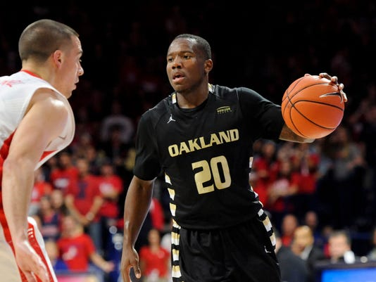 NCAA Basketball: Oakland at Arizona