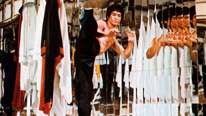 """Bruce Lee (1940-1973), shown here  in"""" Enter the Dragon,"""" is the subject of a documentary that explores his life philosophy."""
