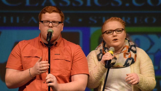 Falling Stars — a sibling singing duo with Caleb and Hannah Brink — will be among the acts competing in EPAC's Got Talent this weekend.
