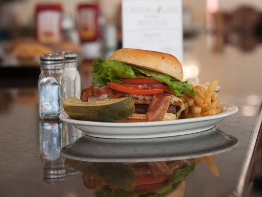 Westmont Burger dish is there to satisfy cravings at the Crystal Lake Diner in Haddon Township.