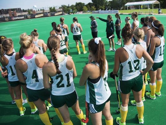 UVM Field Hockey Practice 08/26/15