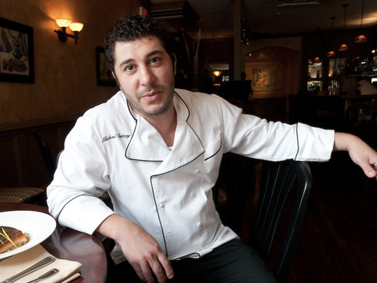 Chef Michael Cutney of The Twisted Oak in Tarrytown.