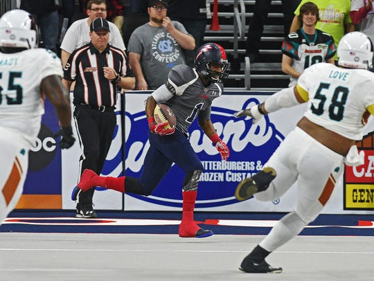 The Storm handed the Arizona Rattlers a 40-29 defeat