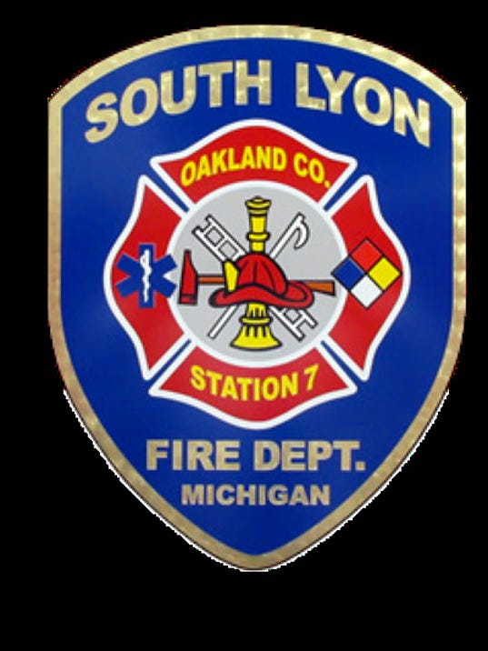 SLFD patch gold
