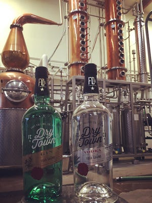 Old Elk Distillery launched Dry Town Vodka, Dry Town Gin and Nooku Bourbon Cream in 2016. Old Elk was founded by OtterBox and Blue Ocean founders Curt and Nancy Richardson.