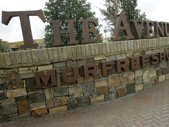 The Avenue Murfreesboro draws shoppers from across the Middle Tennessee region.