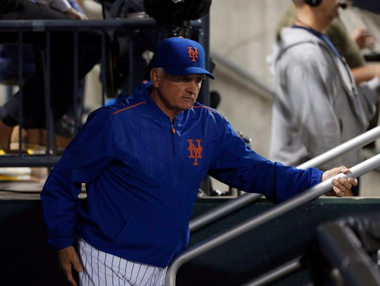 Mets manager Terry Collins said Thursday he will avoid