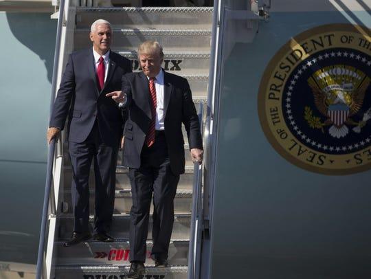 President Trump and Vice President Pence