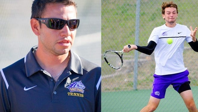 WNMU's tennis coach Yair Banuelos was named as the Rocky Mountain Athletic Conference Coach of the Year, while Liam Fraboulet was selected as the Freshman of the Year.