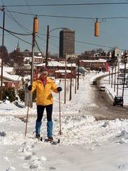 Snowstorm, March 1993.