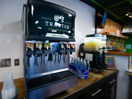 A non-GMO soda fountain at a new north Springfield