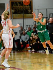 Taylor Malson is one of three Margaretta players averaging double figures for points.