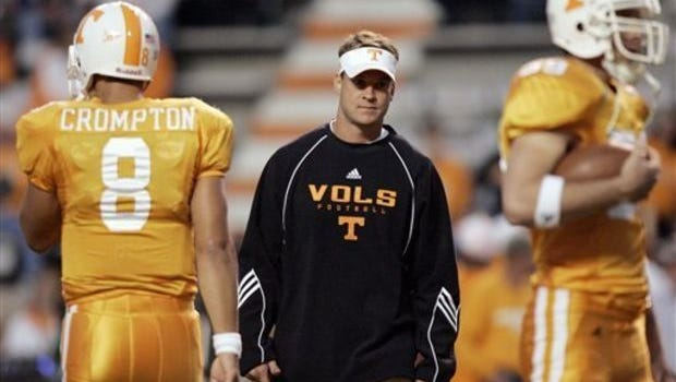 Former Tennessee coach Lane Kiffin returns to Knoxville as Alabama's offensive coordinator