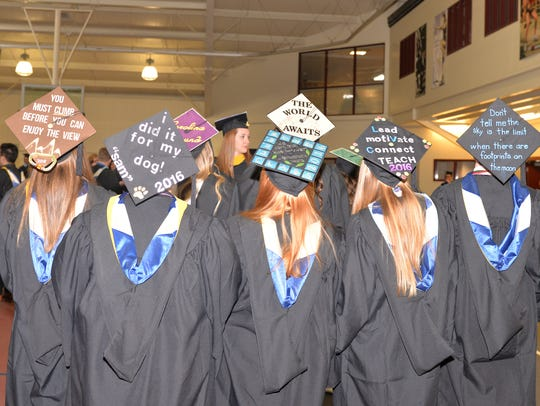Lebanon Valley College 147th Commencement held on May