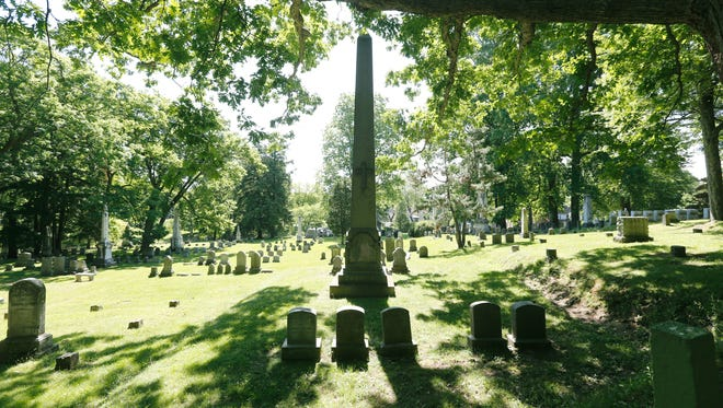 More than 350,000 people are buried in Rochester's Mount Hope Cemetery.