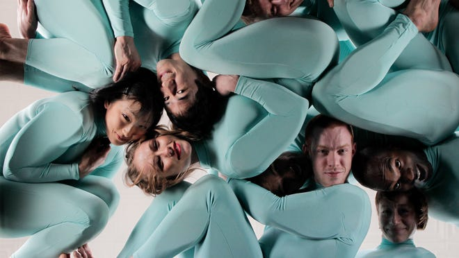 Known for its witty, gravity-defying acts of balance and contortion, the renowned dance troupe Pilobolus will return by popular demand to Scottsdale Center for the Performing Arts on March 28–29, 2014. Pictured: Pilobolus photo for 'All Is Not Lost.' Credit: Nadirah Zakariya.