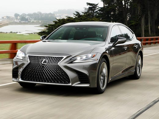 Lexus F Sport >> 2018 Lexus LS 500 is a $100K beauty with beastly controls